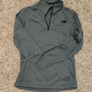 The North Face 1/2 zip sweatshirt/jacket